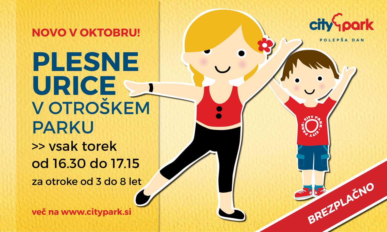 brezplačne plesne urice za otroke