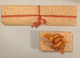 darilo, ročno delo, ideja za darilo, koledar, rojstni dan
