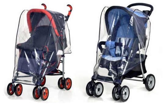 univerzalna dežna prevleka za otroški voziček